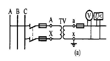 10kv单相电压互感器接线图