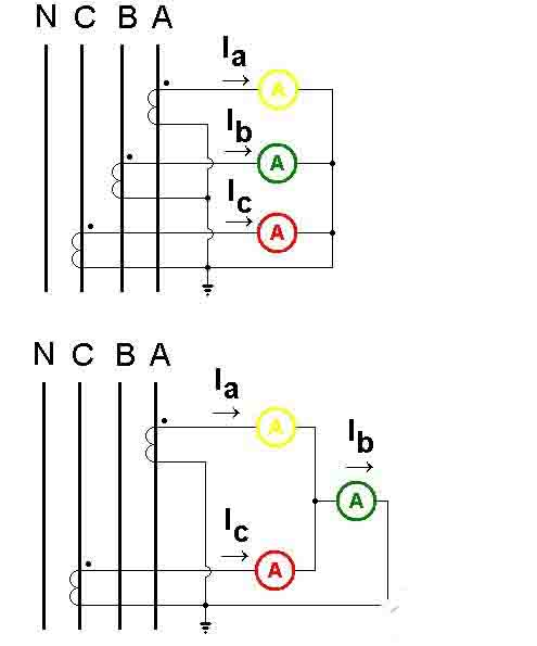 低压电流互感器接线图2图3