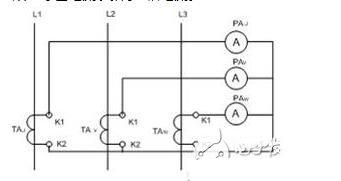电流互感器接线图1